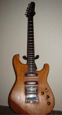 My refinished 1985 Ibanez Roadstar II.