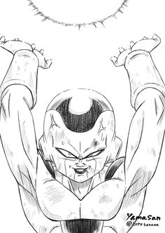 yamasan (@2094banana) | Twitter Dbz Drawings, Badass Drawings, Goku Drawing, Ball Drawing, Cartoon Sketches, Dragon Ball Gt, Avengers Drawings, Flash Drawing, Drafting Pencil