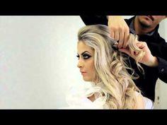 Os 10 mais belos penteados com cachos para as noivas | As Lembrancinhas de Casamento