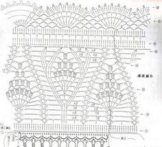 Дизайнерское платье крючком от Janaina Mendonca. Каталожная модель летнего платья со схемами.