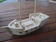 сборка моделей кораблей из дерева