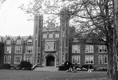 Main Hall at Wagner College in the Staten Island borough of New York City
