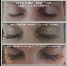 See Lucy's lashes. Want to be like Lucy and get fuller/longer looking lashes? Msg me and find out how you can get a free travel size eye cream as a thank you! Long Lashes, False Lashes, Lash Boost Results, Regrow Eyebrows, Eyelashes Grow, My Rodan And Fields, Rodan And Fields Eyelash, Eyelash Serum, Regrow Hair