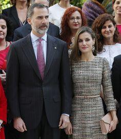 17 Feb 2017 - King Felipe/Queen Letizia Attend Exhibit. Opening at Thyssen Bornemisza Museum | Los soberanos, acompañados del Pres. de Hungría, János Áder, y su mujer, Anita Herczegh, han llegado a las 12:00 hrs, la misma hora a la que el Tribunal Superior de Justicia de Baleares ha anunciado su fallo, determinando la absolución de la infanta Cristina y la condena a 6 años, 3 meses de prisión para su marido, Iñaki Urdangarín.