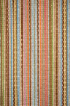 Zanzibar Ticking Woven Cotton Rug   Dash & Albert Rug Company