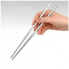$1.22 High Quality With Thread Stainless Steel Chopsticks