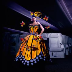 Air NZ Fairy: One of my favourite Word of WearableArt creations