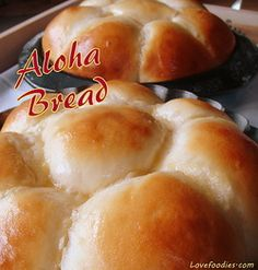 aloha bread - Lovefoodies