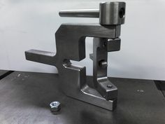 Radius Turning Tool for Lathe Tool Holder, Spare time project, hand machined from re-claimed material.