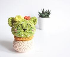 Mon chat cactus au crochet / My crochet cat cactus ;)