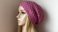 How To Crochet A Raspberry Stitch Hat, Lilu's Handmade Corner Video # 84