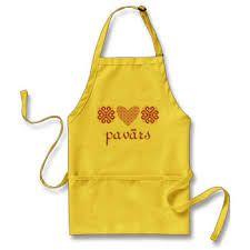 latvian design - apron pavars (chef)