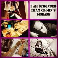 I am tougher than Crohns Disease