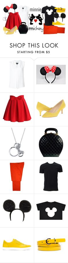 """Classics"" by inside-report ❤ liked on Polyvore featuring Derek Lam, Chicwish, Nine West, Disney, Chanel, Gresham Blake, Simplex Apparel and Dolce&Gabbana"