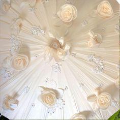 #English Garden / Pamela's Parasols Couture Fleur Collection