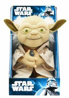 "Star Wars 9"" Talking Yoda plush £15.00"