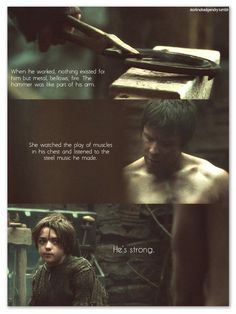Game of Thrones Arya & Gendry