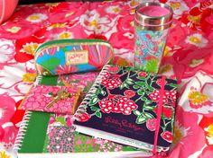 Gotta love Lilly school supplies