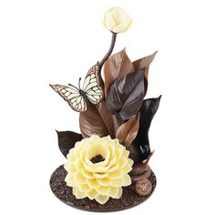 Ikebana di cioccolato Welcome Spring! cioccolato artigianale, cioccolato italiano, artisanal chocolate, italian chocolate, excellence of Rome, chocolate art