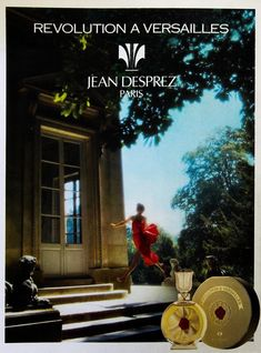 Jean Desprez Revolution A Versailles Versailles, Perfume Ad, Advertising, Ads, Fragrance, Movie Posters, Beauty, Products, Flasks