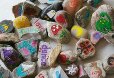 Beneath the Rowan Tree: Rock On :: Create Your Own Story Stones