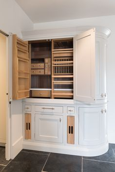 chefs pantry in the kitchen at St johns place Bed City, Chefs, Pantry, Kitchen Cabinets, Places, Design, Home Decor, Pantry Room, Restaining Kitchen Cabinets