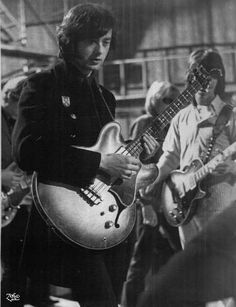 Image detail for -Jimmy Page with the Yardbirds and a Gibson EB2 bass