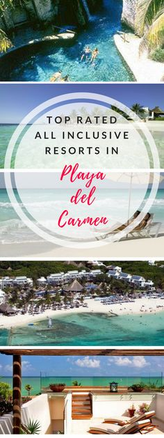 Top Playa Del Carmen All Inclusive Resorts All Inclusive Honeymoon Resorts, All Inclusive Mexico, Caribbean All Inclusive, Mexico Resorts, Caribbean Vacations, Mexico Vacation, Mexico Travel, Couples Resorts, Family Resorts