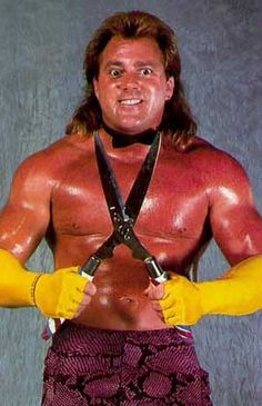 """Edward Harrison """"Ed"""" Leslie (born April 21, 1957) is an American professional wrestler, best known for his work in the World Wrestling Federation under the ring name Brutus """"The Barber"""" Beefcake. He later worked for World Championship Wrestling under a variety of names, mainly as """"The Disciple"""" of real-life best friend Hulk Hogan. He is a former WWF World Tag Team Champion."""