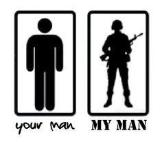 Military man.
