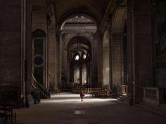 Paris church, Baryta print, 200x256cm, 2009