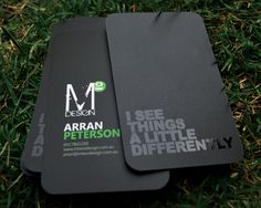 MTwo Design Business Cards
