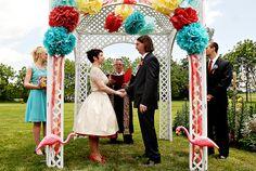 Retro/Rockabilly Wedding: The Heart of Rock n' Roll still Beats Wedding Themes, Diy Wedding, Wedding Ceremony, Dream Wedding, Wedding Ideas, Wedding Stuff, Wedding Gazebo, Quirky Wedding, Spring Wedding