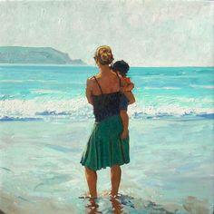 "Saatchi Online Artist: David Axtell; Oil, Painting ""Hold On"""