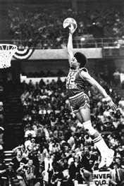 Look at that....Jordan isn't the only NBA Player that can FLY!!!!! Before Jordan, there was the Doctor..Dr. J