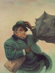 Windswept day (Szélfútta nap) - artist: Szász Endre László