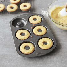 Recipes | Baked Cake Doughnuts | Sur La Table