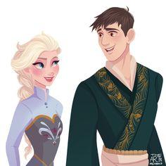 Tadashi & Elsa {Tadelsa}