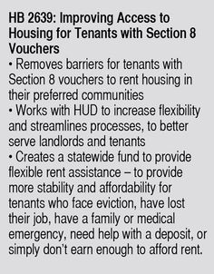 Section 8 laws in need of reform