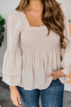Night Outfits, Casual Outfits, Cute Outfits, Fashion Outfits, Taupe Color, Cute Tops, Love Fashion, What To Wear, My Style
