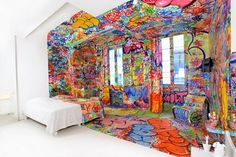 Graffiti Hotel Room