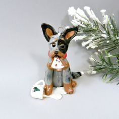 Hey, I found this really awesome Etsy listing at https://www.etsy.com/listing/214239230/australian-cattle-dog-christmas-ornament