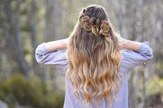 Rosette Bun | Cute Girls Hairstyles
