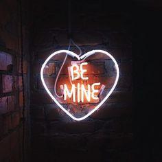 be mine neon Happy Alone, Neon Quotes, Neon Words, Light Quotes, All Of The Lights, Neon Aesthetic, Neon Glow, Neon Lighting, Interior Lighting