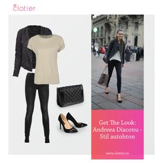 Get The Look: Andreea Diaconu Get The Look, Campaign, Content, Medium, Board, Blog, Image, Fashion, Moda