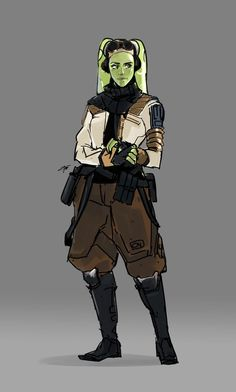 unartifex - Rebels Star Wars - Ideas of Rebels Star Wars - Did a quick drawing of Hera Syndulla as a Rebel field agent. Star Wars Characters Pictures, Star Wars Pictures, Star Wars Concept Art, Star Wars Fan Art, Star Wars Rpg, Star Wars Rebels, Character Inspiration, Character Art, Character Design