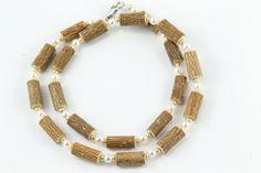 Women Hazel Necklace - pearl/gold - Healing Hazel Pearl Necklace, Beaded Necklace, Necklaces, Ankle Bracelets, Healing, Pearls, Gold, Jewelry, Women