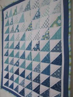 Ocean Blue Quilt
