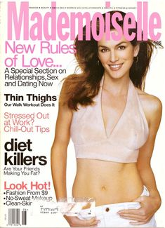 Mademoiselle Fashion Magazine 1996 Cindy Crawford Niki Taylor Christy Turlington Angie Everhart Bacardi Aids Adoption Stress Vintage Ads by on Etsy Niki Taylor, Fashion Magazine Cover, Fashion Cover, Christy Turlington, Cindy Crawford, Vintage Magazines, Vintage Ads, Mademoiselle Magazine, Best Callus Remover