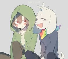 Chara and Asriel StoryShift